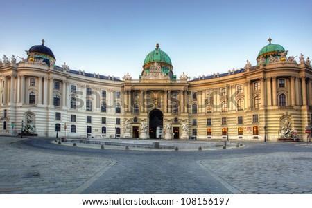 Hofburg in Vienna, Austria - stock photo