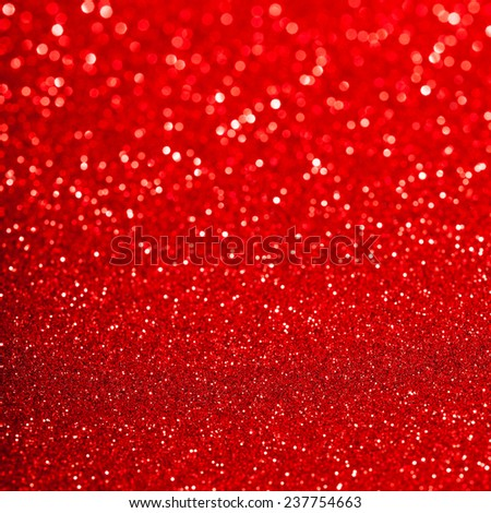 Holiday abstract glitter background with blinking lights - stock photo