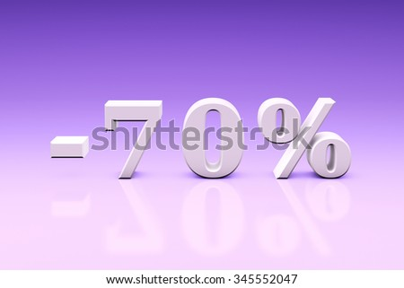 Holiday discounts for the goods and services. Set of discount 3d-images - stock photo