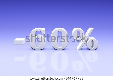 Holiday discounts for the goods and services. Set of discount 3d-images (3000x4500px).