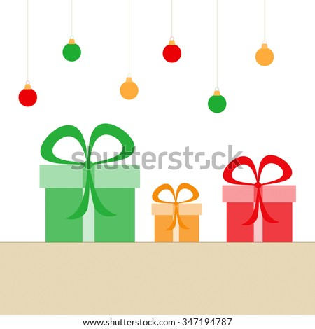 Holiday Gifts - stock photo