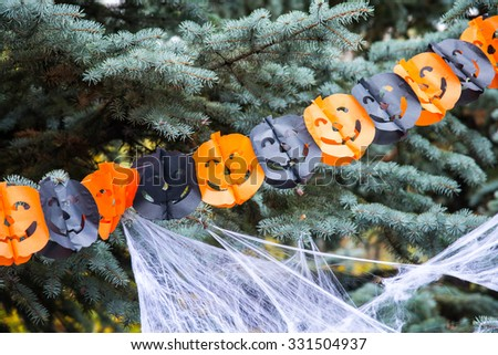 Holiday Halloween. Jewellery. - stock photo