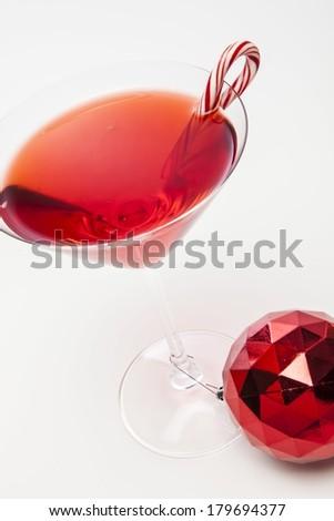 Holiday Martini - stock photo