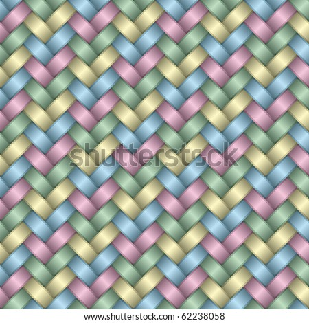 Holiday wrapping paper satin background (seamless pattern) - stock photo