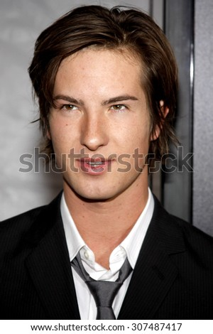 HOLLYWOOD, CA - DECEMBER 07, 2009: Andrew James Allen at the Los Angeles premiere of 'The Lovely Bones' held at the Grauman's Chinese Theater in Hollywood, USA on December 7, 2009. - stock photo