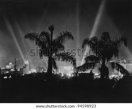 Hollywood, California, circa late 1930s - stock photo