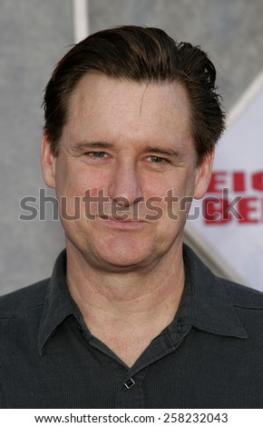 "HOLLYWOOD, CALIFORNIA. February 12, 2006. Bill Pullman attends the World Premiere of ""Eight Below"" held at the El Capitan Theater in Hollywood, California United States.  - stock photo"