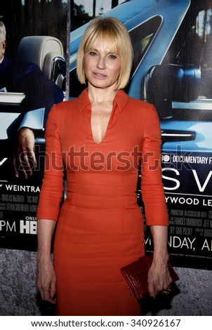 """HOLLYWOOD, CALIFORNIA - March 22, 2011. Ellen Barkin at the Los Angeles premiere of """"His Way"""" held at the Paramount Studios, Los Angeles.  - stock photo"""