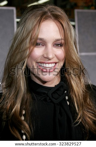 HOLLYWOOD, CALIFORNIA. October 17, 2006. Piper Perabo at the World premiere of 'The Prestige' held at the El Capitan Theatre in Hollywood, USA on October 17, 2006. - stock photo
