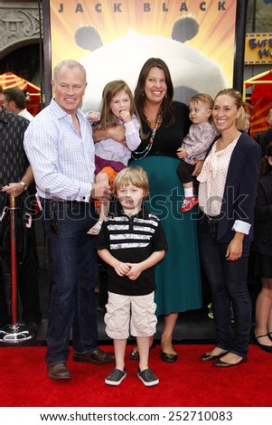 "HOLLYWOOD, CALIFORNIA - Sunday May 22, 2011. Neal McDonough at the Los Angeles premiere of ""Kung Fu Panda 2"" held at the Grauman's Chinese Theater, Los Angeles.  - stock photo"