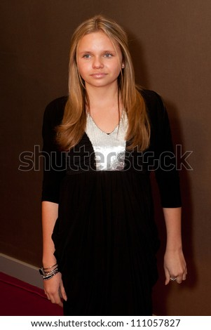 HOLLYWOOD - JAN 29: Alli Simpson attends Ashley Argota 18th Birthday at the W Hotel Hollywood, January 29, 2011, in Hollywood, CA - stock photo
