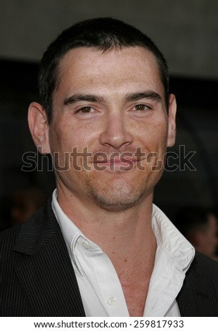 """HOLLYWOOD. Thursday May 4, 2006. Billy Crudup attends the Los Angeles Fan Screening of """"Mission: Impossible III"""" held at the Grauman's Chinese Theatre in Hollywood, California United States.  - stock photo"""