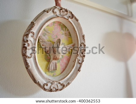 Holy Spirit Symbol - stock photo