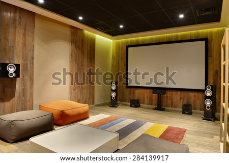 home cinema - stock photo