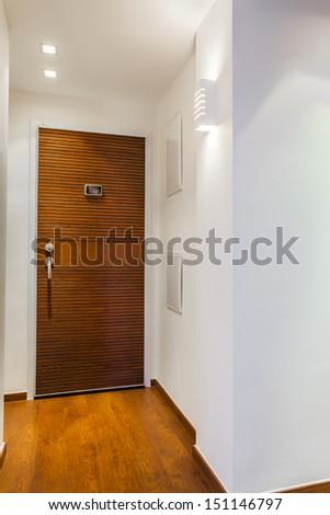 Home Entrance Designs - Modern Entry Interior   - stock photo