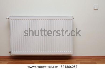 home gas heater closeup - stock photo