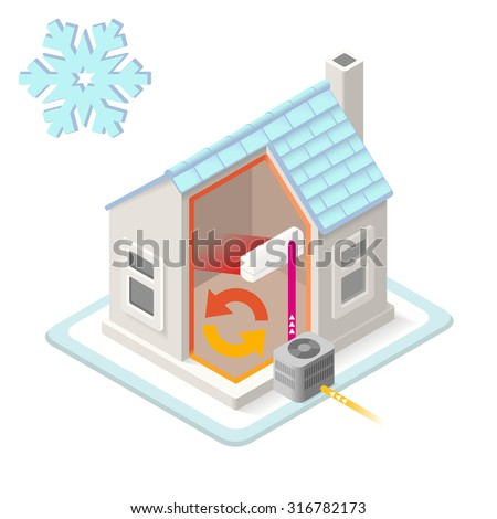 Heating system stock photos images pictures shutterstock for Home heating systems