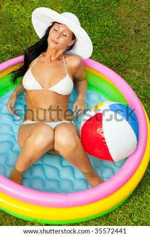 paddling pool stock photos images pictures shutterstock. Black Bedroom Furniture Sets. Home Design Ideas