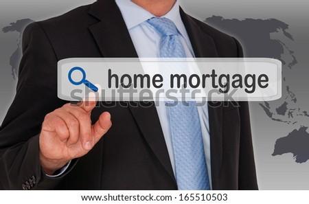 Home Mortgage - stock photo