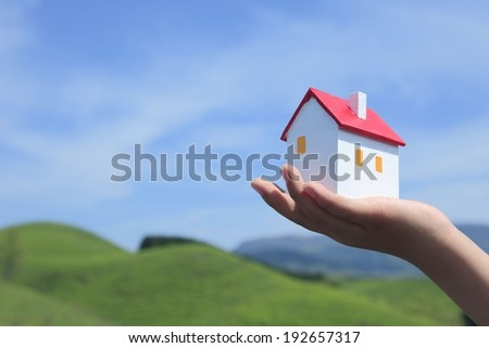 Home of My Dreams - stock photo