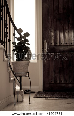 Home Sweet Home Conceptual Image - stock photo