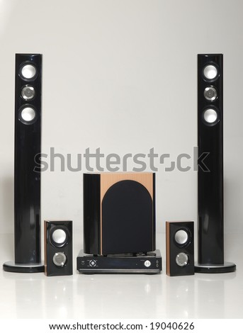 home theater - stock photo