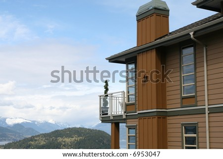 Home With View - stock photo