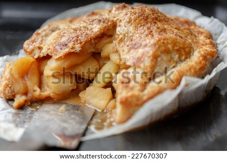 Homemade Apple pie - stock photo