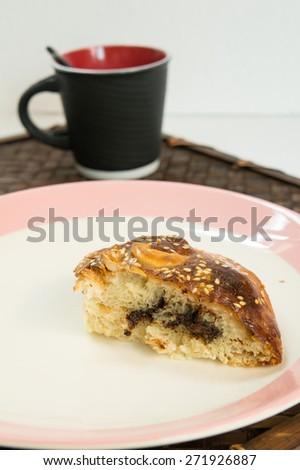 homemade bread taste snack oven - stock photo