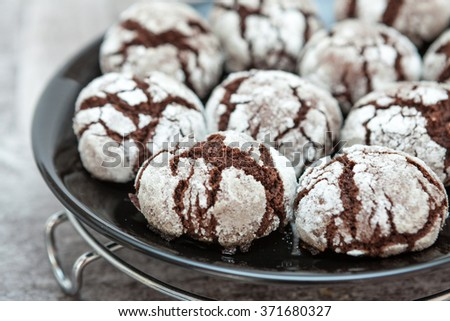Homemade Chocolate Sweet Pops  - stock photo