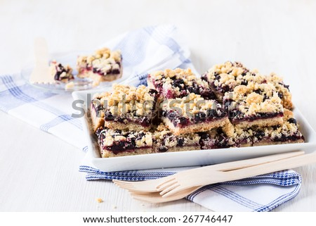 Raspberry Cornmeal Crumble Bars Recipes — Dishmaps