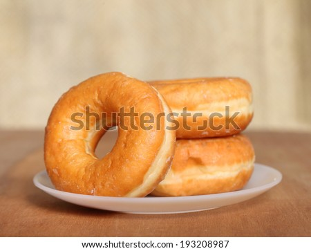 Homemade Donuts  - stock photo