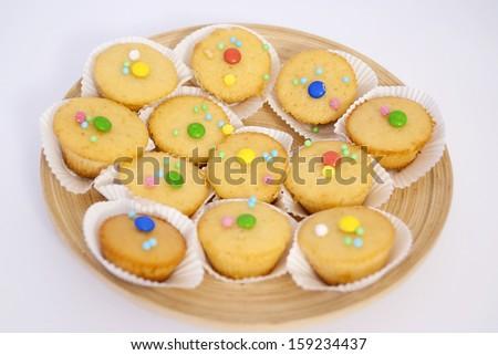 homemade Muffins - stock photo