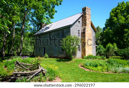 Homestead at High Allegheny - stock photo