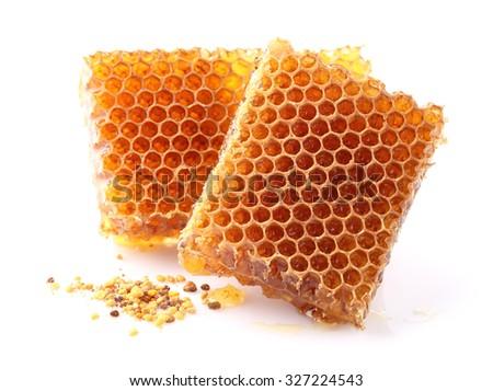 Honey pollen - stock photo