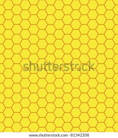 Honeycomb, bee hive background - stock photo