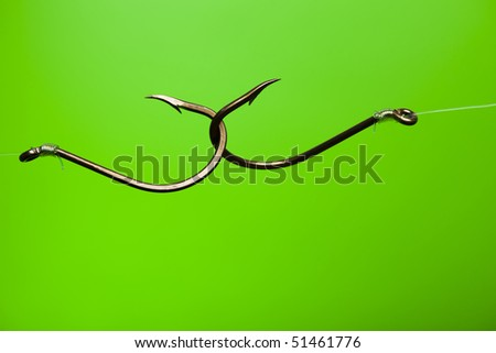 Hook - stock photo