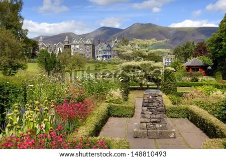 Hope Park at Keswick, Cumbria, England - stock photo