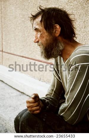 Hopelessness. - stock photo