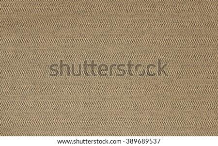 Horizontal background tweed fabric. Texture beige tweed. - stock photo