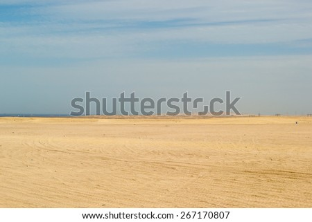 horizontal sky outdoors mountain desert colo, extreme - stock photo