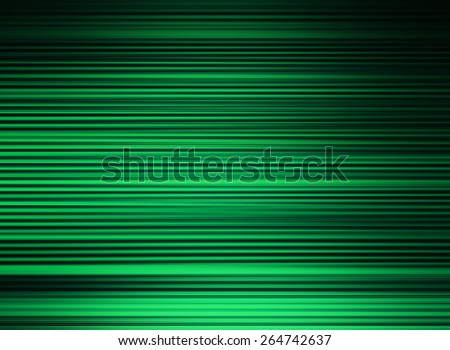 Horizontal vibrant green lines business presentation textured background backdrop - stock photo
