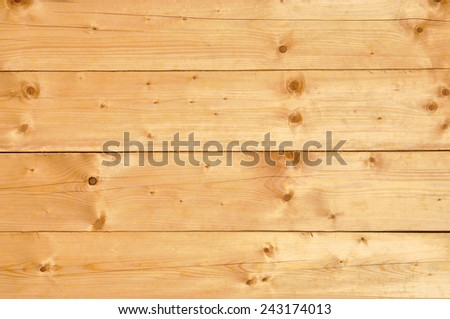 Horizontal wooden planks as a texture or background. - stock photo