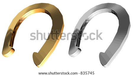 Horse shoe - stock photo