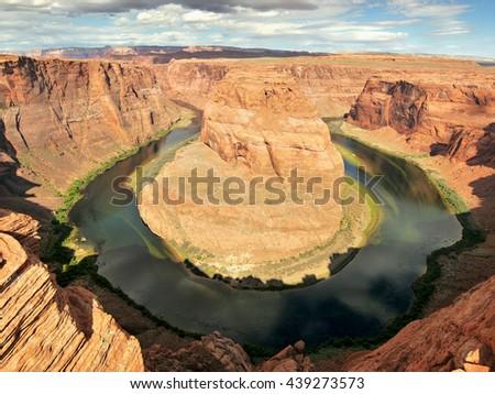 Horseshoe Bend, Arizona - stock photo