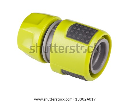 Hose Connector - stock photo