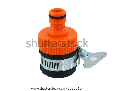 Hose Coupling - stock photo