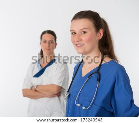 hospital- team - stock photo