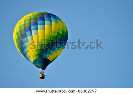 Hot Air Balloon - stock photo