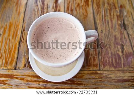 Hot chocolates - stock photo